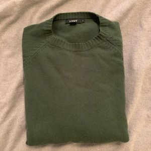 J.crew forest green sweater. Size Large.